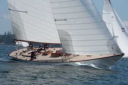 Ames Cup overall winner Herreshoff NY-40 Marilee built in 1926